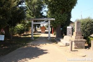 久本天照神社(川崎市高津区久本)4