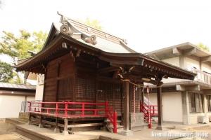 神明神社(川崎市中原区上小田中)7