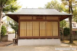 神明神社(川崎市中原区上小田中)10