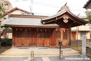 大戸神社(川崎市中原区下小田中)13