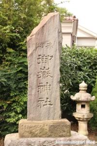 大戸神社(川崎市中原区下小田中)12