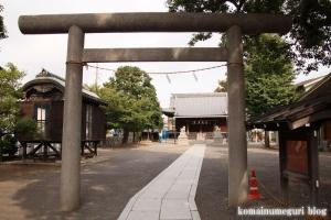 新城神社(川崎市中原区新城中町)5