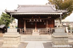 新城神社(川崎市中原区新城中町)8