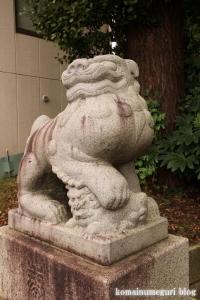 千年神社(川崎市高津区千年)8