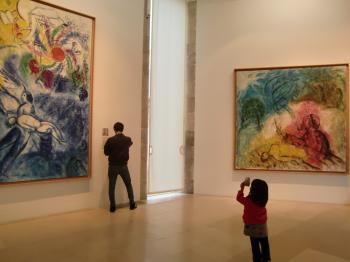 シャガール美術館②