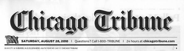 シカゴ・トリビューン紙 - カメ...