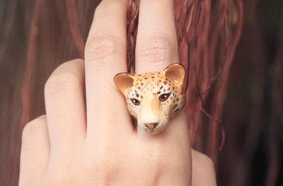 レオパード指輪