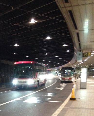 新千歳空港からはバスですすきのにアクセス