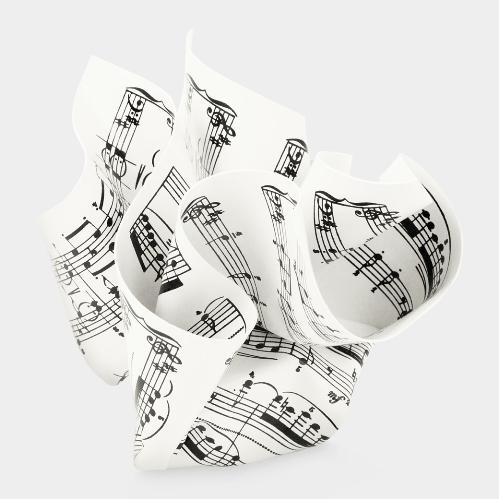 MoMA Sheet Music Paperweight(ペーパーウェイト,楽譜)Tibor Kalman(ティボール・カルマン)/M&Co,1984-85