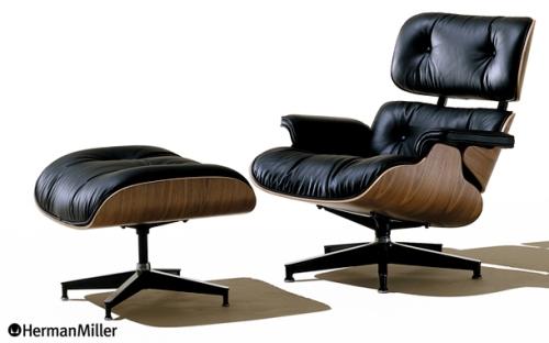 Eames Lounge (イームズ ラウンジチェア)Charles & Ray Eames(チャールズ & レイ・イームズ)Herman Miller (ハーマンミラー)