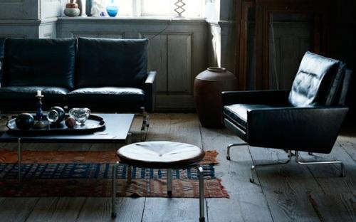 PK31 Lounge Chair(ピーケイ31 アーム付きラウンジチェア)Poul Kjaerholm(ポール・ケアホルム)Fritz Hansen(フリッツハンセン)