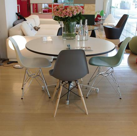 Eames Contract Base Table Charles & Ray Eames (イームズ コントラクトベーステーブルチャールズ&レイ・イームズ) Herman Miller社