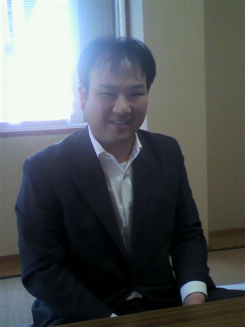 宇城会計センターの山田先生(^^)