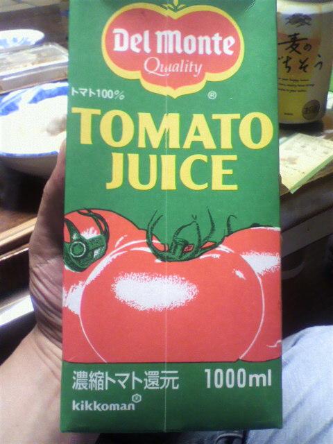 デルモンテのトマトジュース…レッドアイ