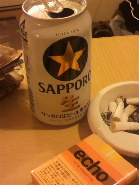 祝杯…終わり…サッポロ