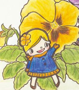 【今月のお花】パンジーちゃん。。。1月もそろそろおわり。
