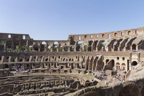 コロッセオ内部