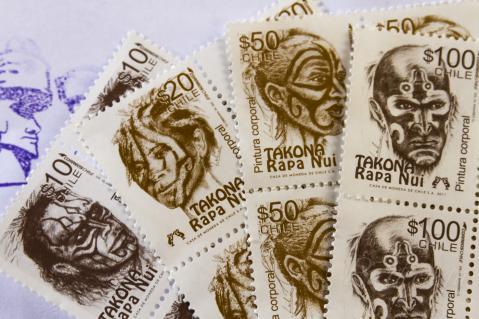 ラパヌイ切手