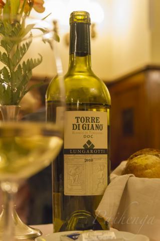 ワインと夕食