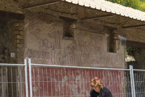街角の落書き