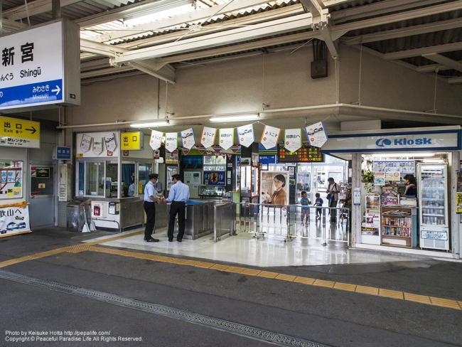 新宮駅の改札