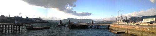 呉、潜水艦基地
