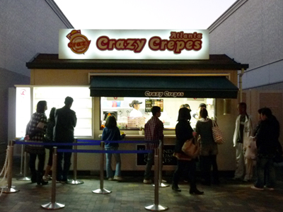 「Crazy Crepes」(クレージークレープス)