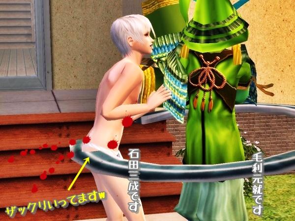 そんな画像で大丈夫か(Sims2)