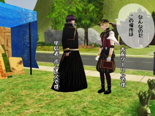 BASARAキャラ増員(Sims2)