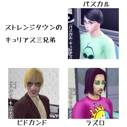 キュリアス家 1 (Sims2)