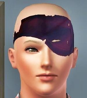 戦国BSR アニキ 眼帯 テストバージョン(Sims3)