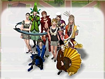 キャンパス with BASARA ⑦(Sims2)