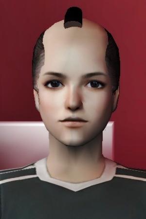 御家人髷なんとか完成(Sims2)