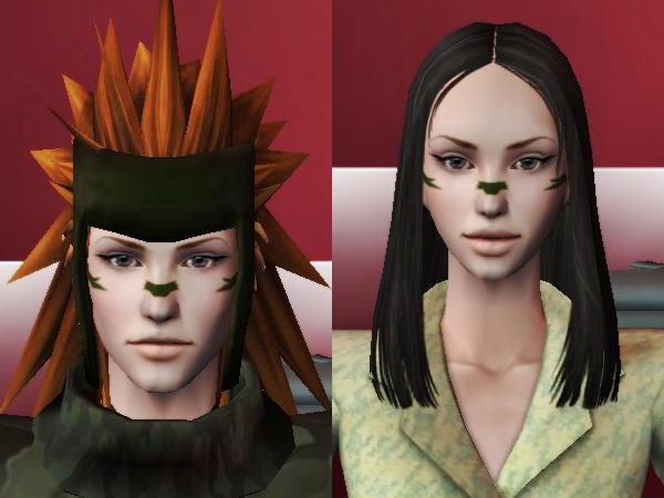 性転換をやってみた(Sims2)