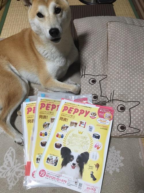 PEPPYのカタログ3冊届きました!