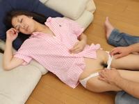 素人企画モノ 無修正動画 「添い寝屋さんから来た女の子が寝ている隙にイタズラしてみました」 2/23リリース