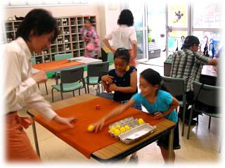 2010盆踊り大会ゲーム風景1