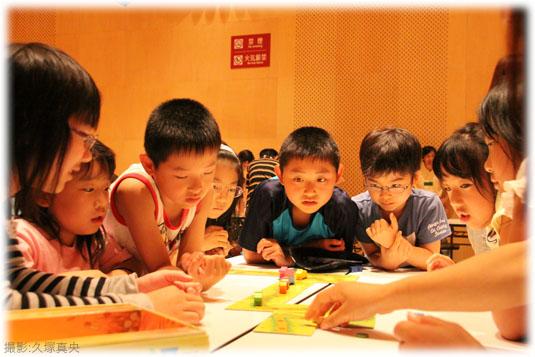 2011-08-27 座・高円寺みんなの作業場の風景:すすめコブタくん