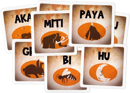 オウガ・ボウガ:カード群
