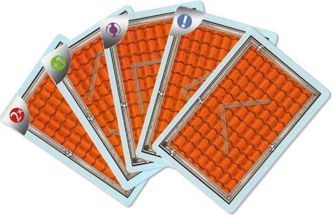 キャプテン・リノ:カード5種類