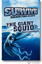 サバイブ!拡張:巨大イカの襲撃:カバー
