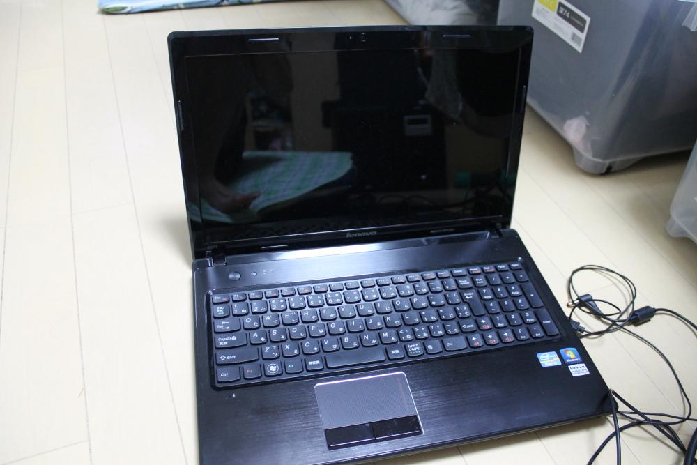 Lenovo G570 43347GJのメモリの増設をした