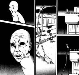 洋介犬の恐怖毒本「屋上の老人」