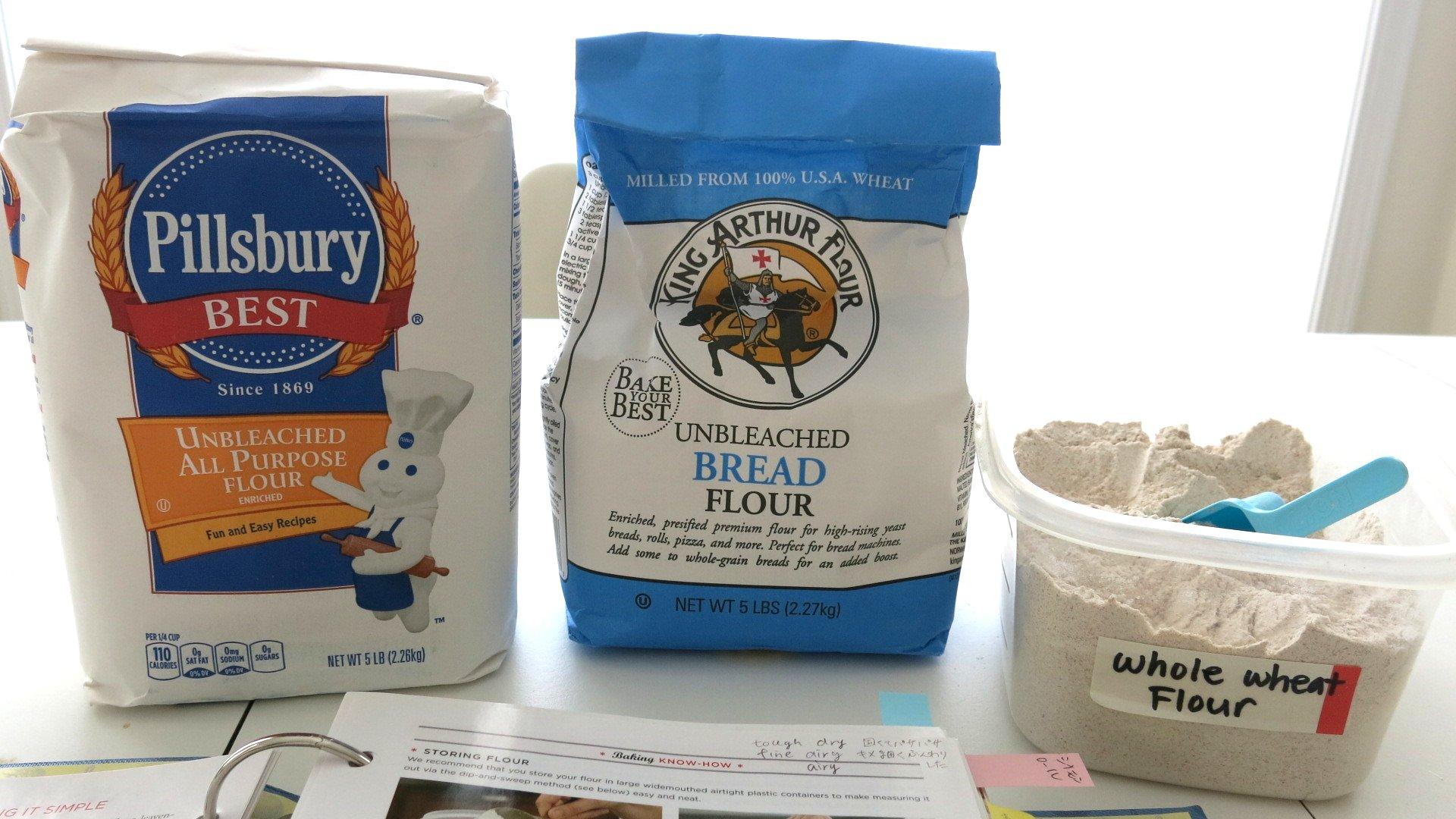 英語 小麦粉