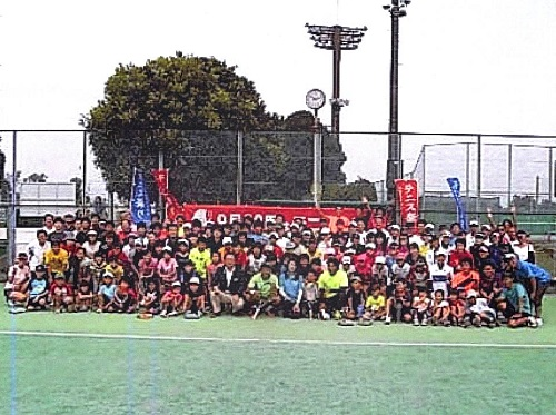 <TTA テニスフェスタ 2014 & 宇都宮秋のテニス祭り>へ!①