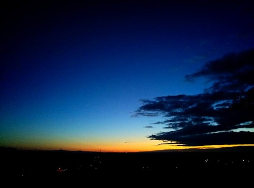 夜から昼への境目… 朝!