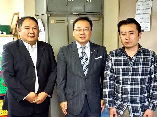 「JR貨物労働組合 宇都宮支部」へ!