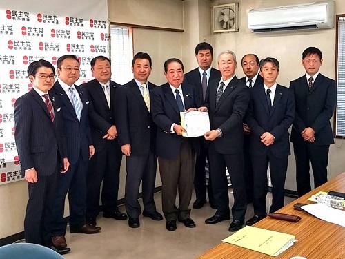 自動車総連 税制改正等要請を受付!