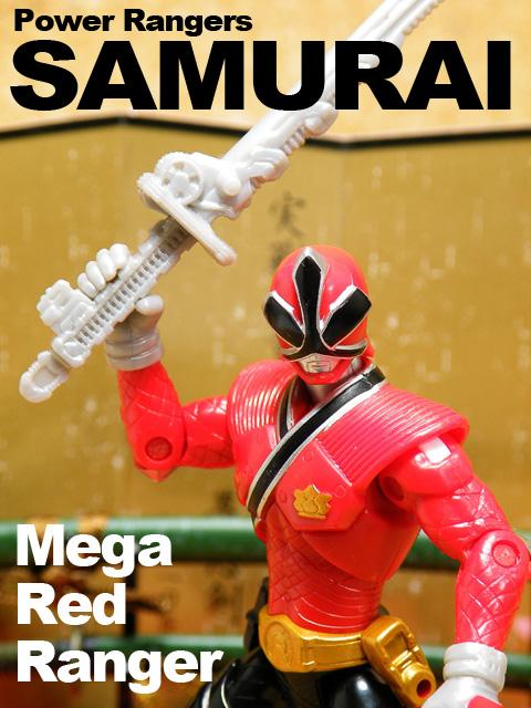 POWER RANGERS SAMURAI MEGA RED RANGER