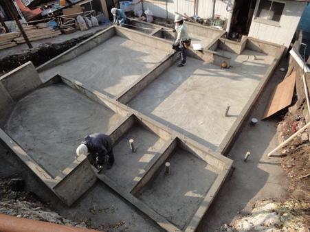 K屋邸増築工事~基礎コンクリート完了